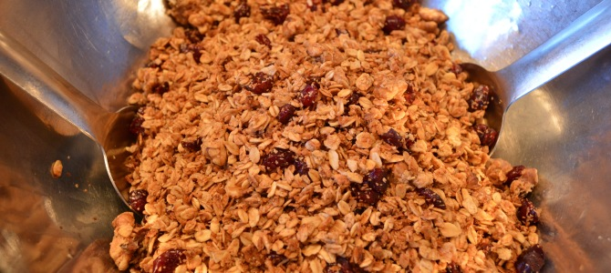 A Gift That Hits The Sweet Spot: Christmas Granola