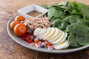 Good Earth Greens and Proteins Salad