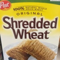 Healthy cereal: Post Original Shredded Wheat