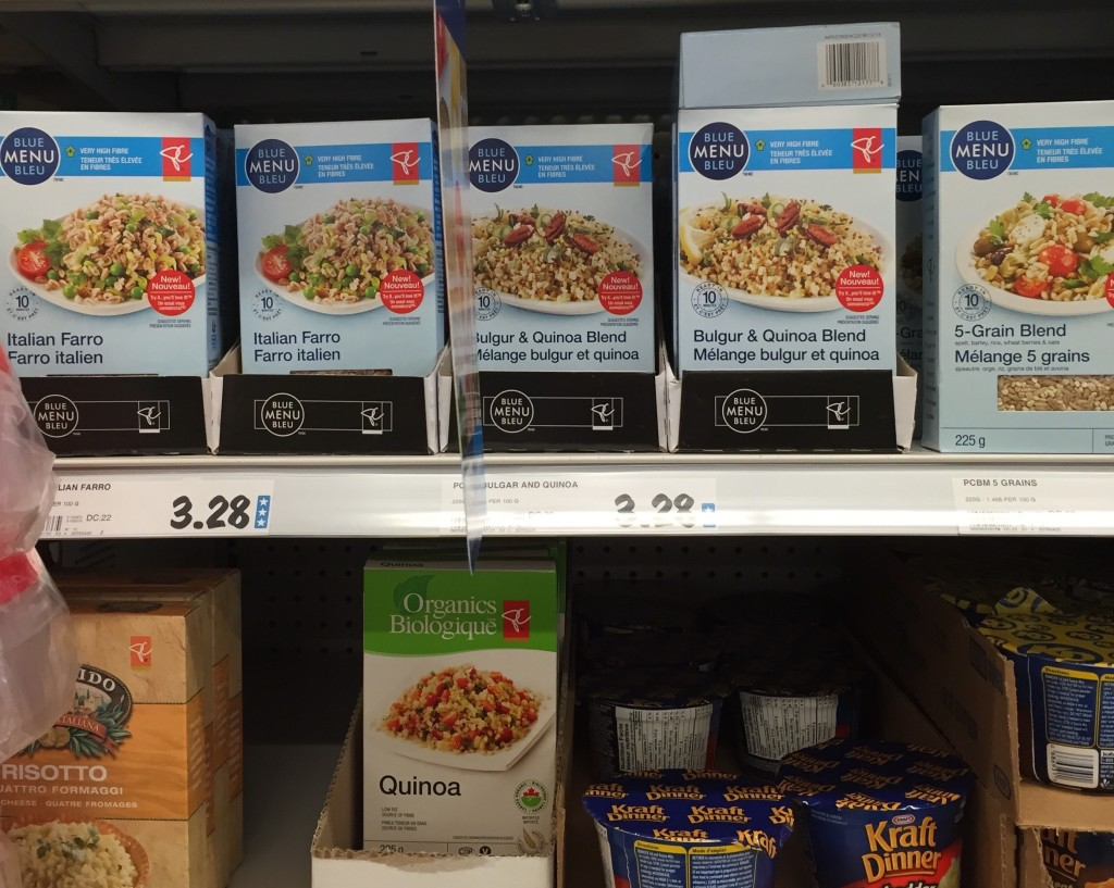 Superstore's Blue Menu - making whole grains easy