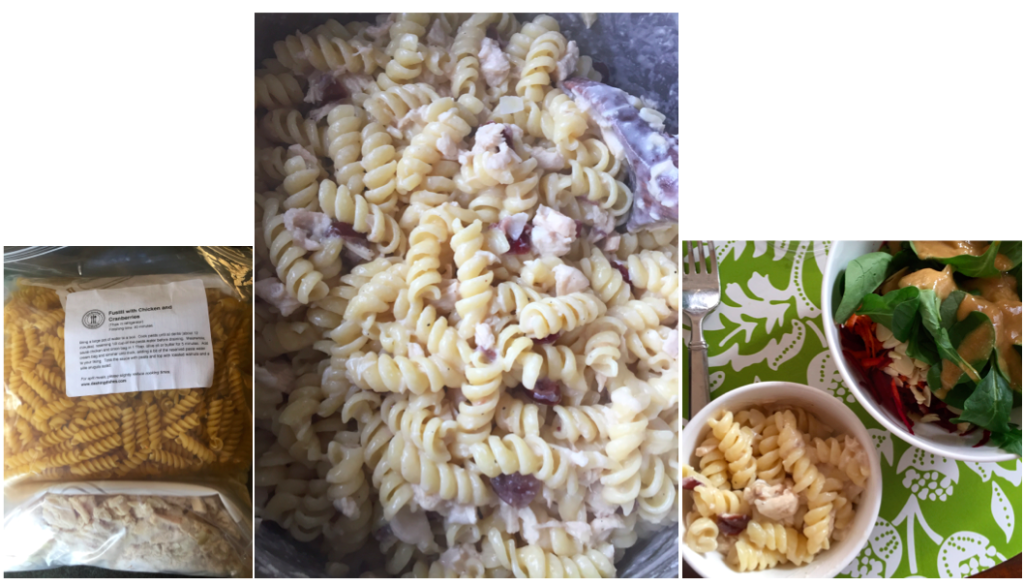 Dashing Dishes Fusilli with Chicken and Cranberries