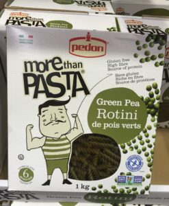 Green pea pasta at Costco