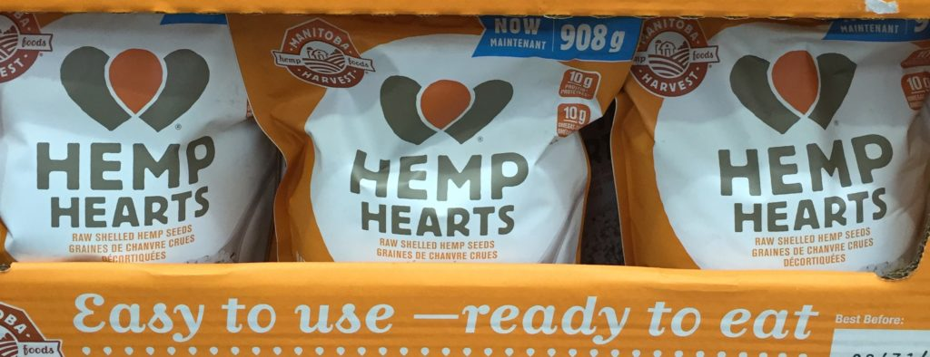 Hemp Hearts at Costco