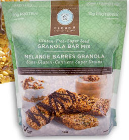 Cloud 9 Gluten-Free granola bar mix at Costco