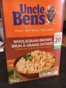 Uncle Ben's parboiled brown rice