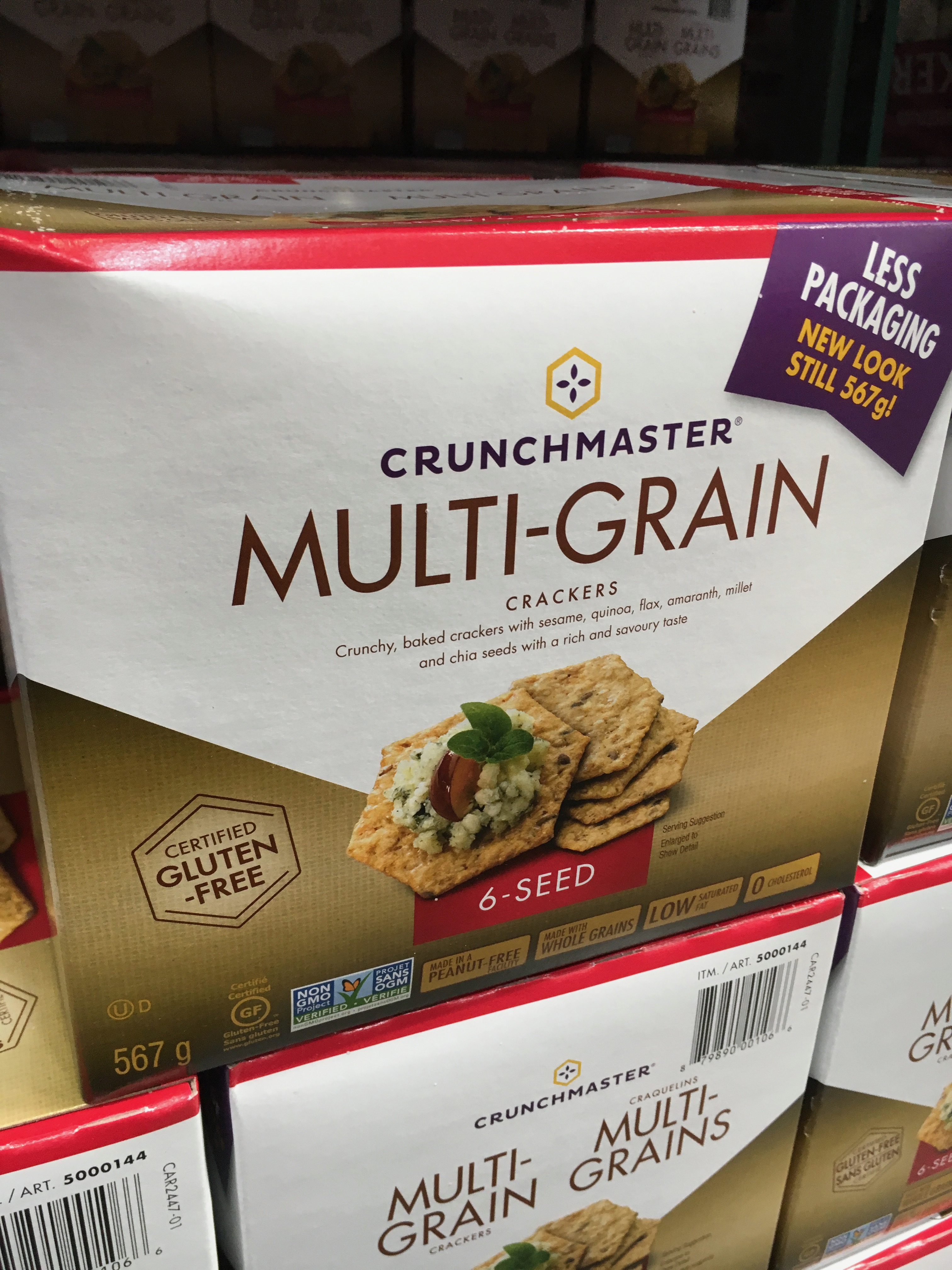 Costco review: Whole-grain crackers and other crunchy crispy
