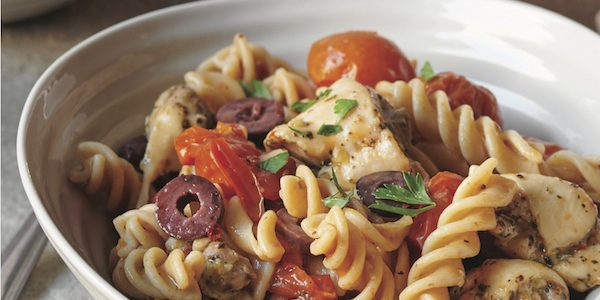 Roasted Tomato and Chicken Pasta Recipe