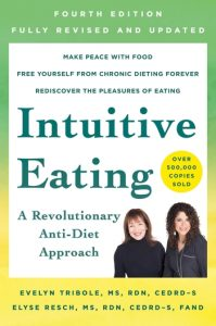 Intuitive Eating book cover