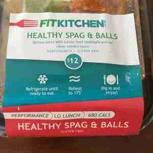 Fit Kitchen Spaghetti & Balls