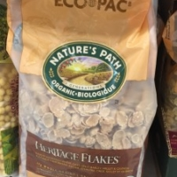 Healthy cereal: Nature's Path Heritage Flakes