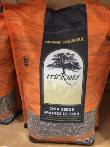 Chia seeds at Costco