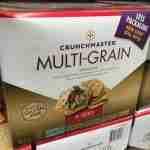 Crunchmaster whole-grain crackers at Costco